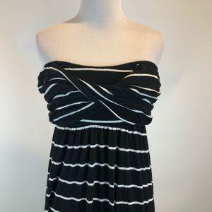 Gibson Latimer Dresses - Gibson Latimer Striped Strapless Maxi Dress SZ L